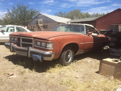 solid 1975 Pontiac Grandville Convertible for sale