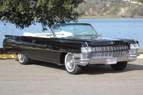 stunning 1964 Cadillac Deville convertible for sale