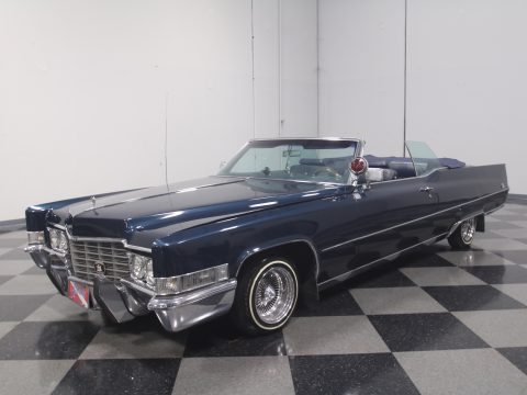 custom 1969 Cadillac Coupe DeVille Convertible for sale