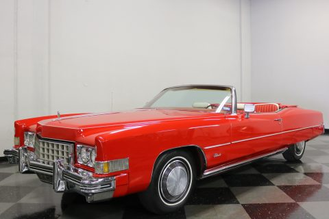 fresh paint 1973 Cadillac Eldorado Convertible for sale
