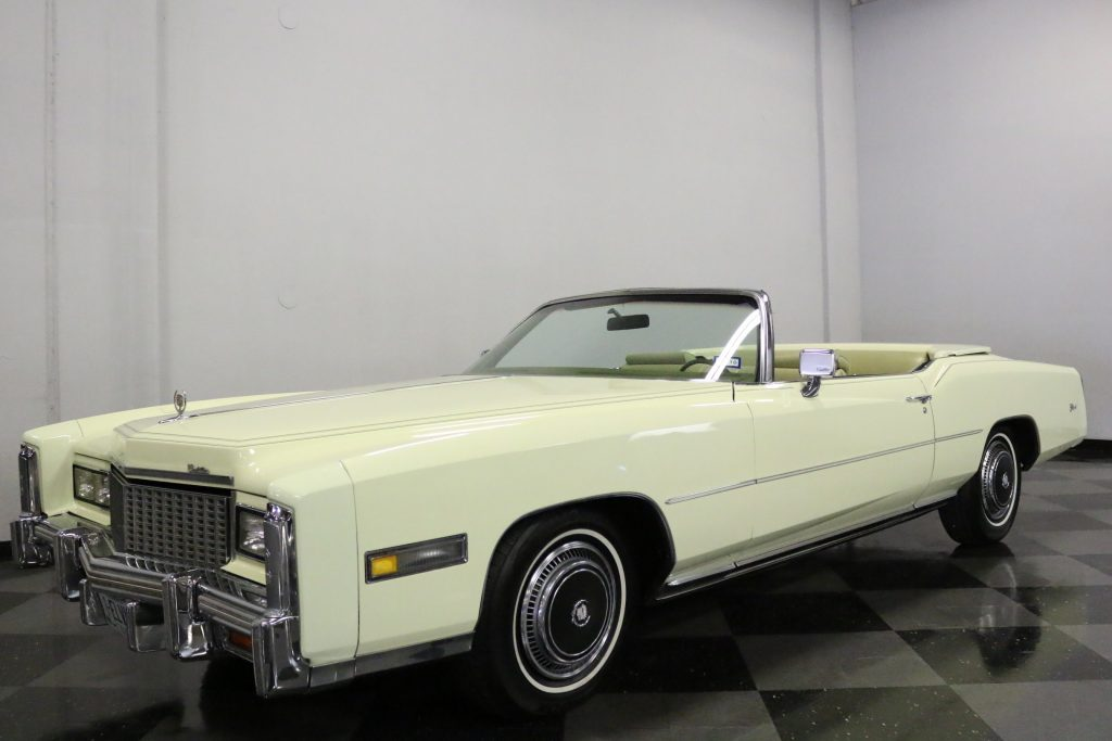 gift from Elvis 1976 Cadillac Eldorado Convertible