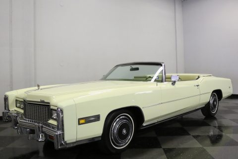 gift from Elvis 1976 Cadillac Eldorado Convertible for sale