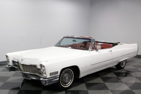 low mileage 1968 Cadillac DeVille convertible for sale