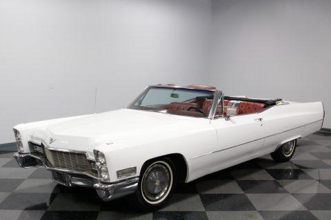 low mileage 1968 Cadillac DeVille convertible for sale