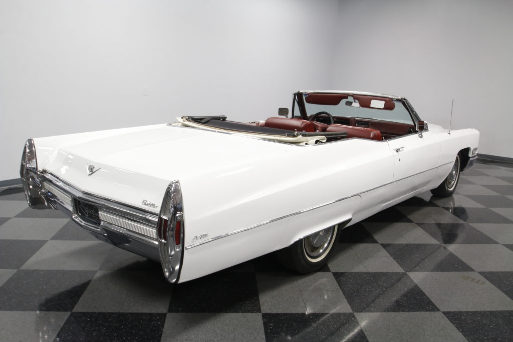 low mileage 1968 Cadillac DeVille convertible
