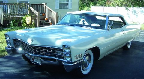 low miles 1967 Cadillac Deville Convertible for sale