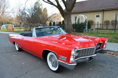 original 1968 Cadillac DeVille convertible for sale