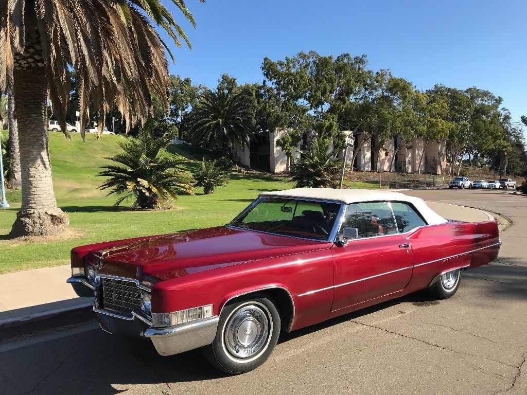 original 1969 Cadillac Deville Coupe Convertible