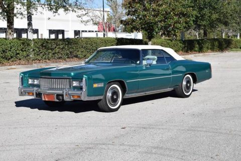 original low miles 1976 Cadillac Eldorado convertible for sale