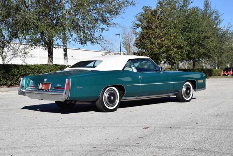 original low miles 1976 Cadillac Eldorado convertible