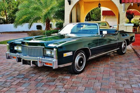 original miles 1976 Cadillac Eldorado Convertible for sale