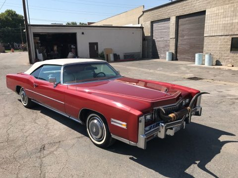 parade car 1976 Cadillac Eldorado convertible for sale