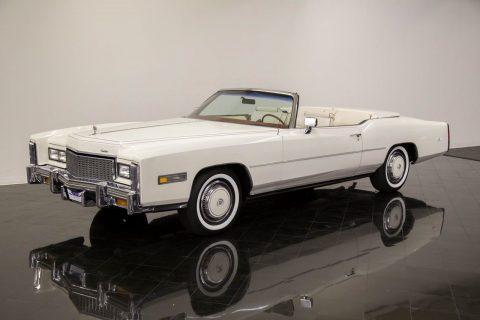 rare 1976 Cadillac Eldorado Bicentennial Convertible for sale