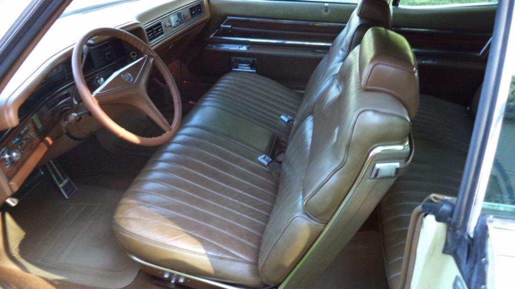 repainted 1971 Cadillac Eldorado convertible