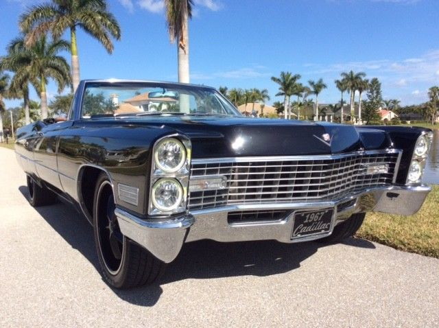 restomod 1967 Cadillac Deville convertible