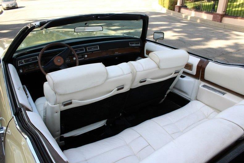 well maintained 1975 Cadillac Eldorado Convertible