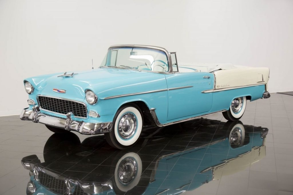 beautiful classic 1955 Chevrolet Bel Air Convertible