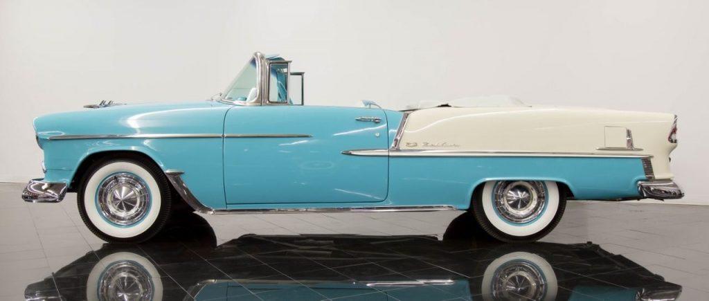 beautiful classic 1955 Chevrolet Bel Air Convertible