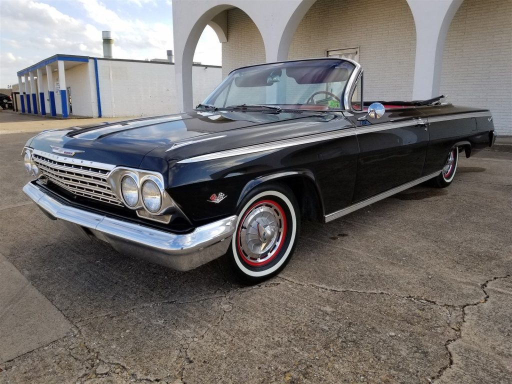 electronic ignition 1962 Chevrolet Impala 327 V8 Convertible