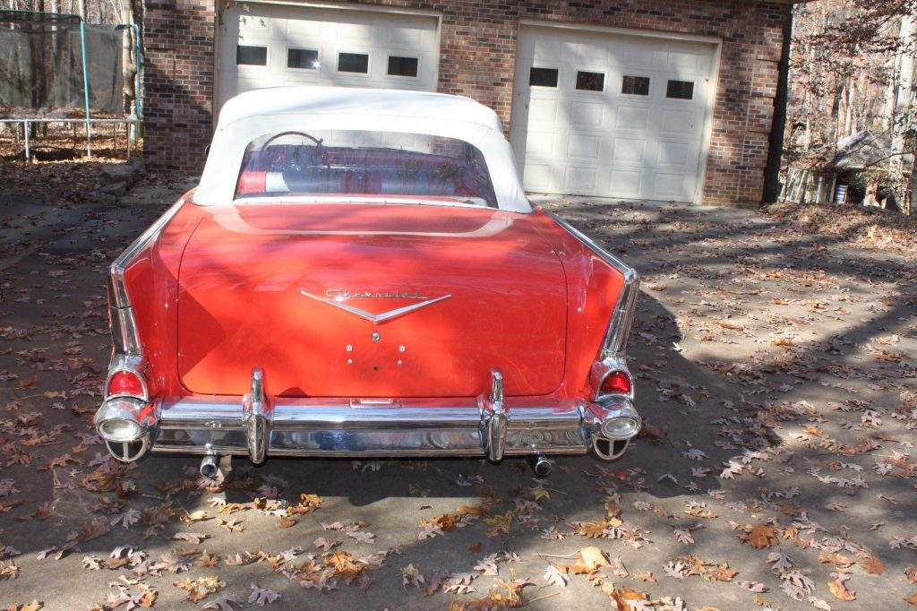 everything works 1957 Chevrolet Bel Air Convertible