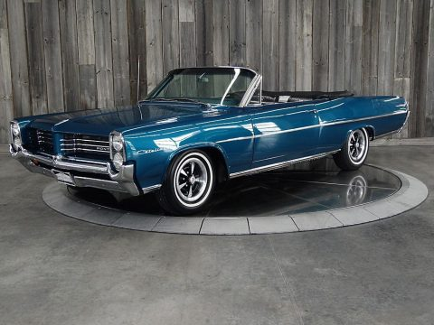 frame off restored 1964 Pontiac Catalina 400 Convertible for sale