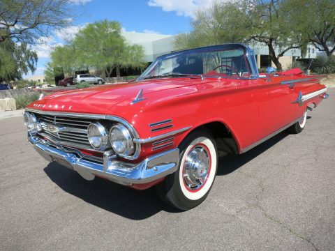 fully restored 1960 Chevrolet Impala Convertible for sale
