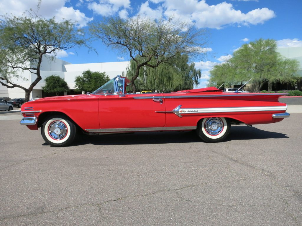 fully restored 1960 Chevrolet Impala Convertible
