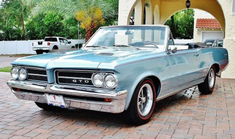 fully restored 1964 Pontiac GTO Convertible for sale