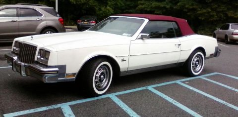 loaded 1982 Buick Riviera convertible for sale