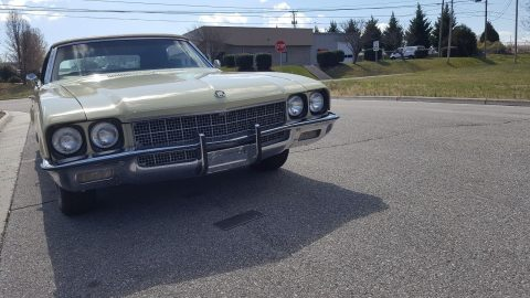low miles 1972 Buick Skylark convertible for sale