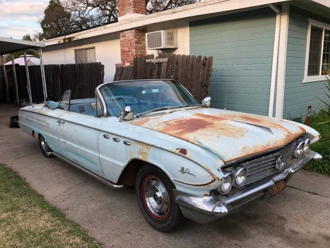 needs TLC 1961 Buick LeSabre convertible for sale