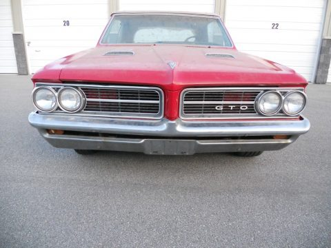 needs TLC 1964 Pontiac GTO convertible project for sale