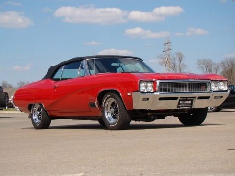 nicely detailed 1968 Buick GS400 convertible for sale