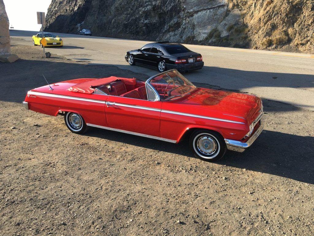 original 1962 Chevrolet Impala Convertible