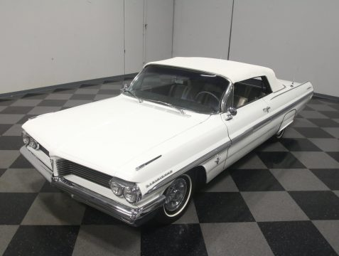 rare 1962 Pontiac Parisienne Convertible for sale