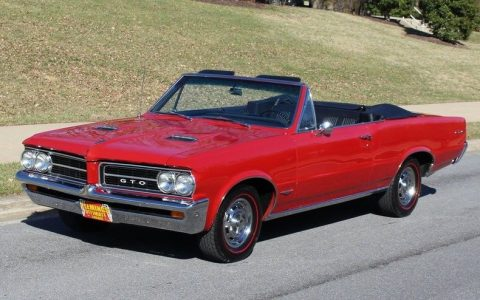 rare 1964 Pontiac GTO convertible tri power for sale