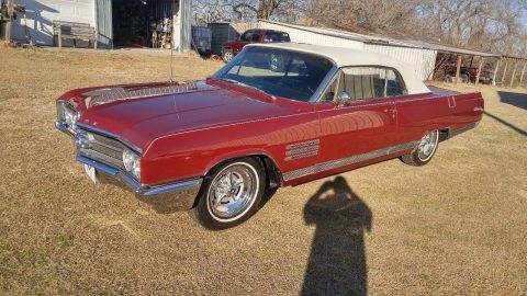 rare 4 speed 1964 Buick Wildcat custom convertile for sale