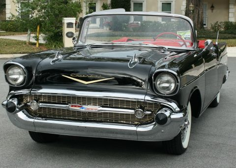 restored 1957 Chevrolet Bel Air Convertible for sale