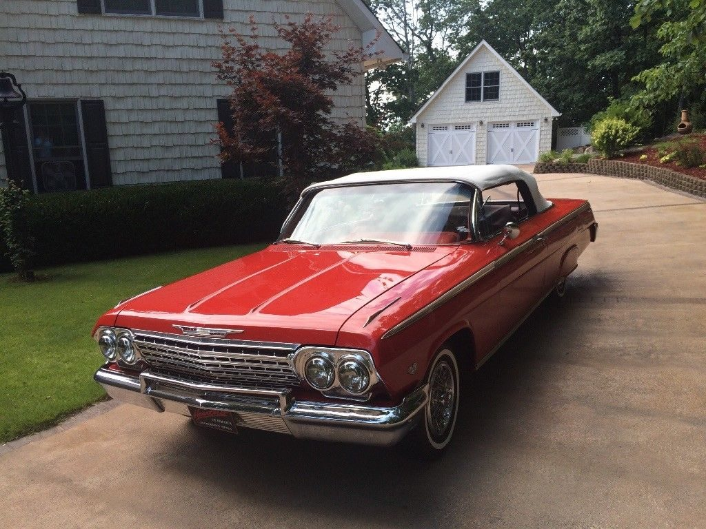 restored 1962 Chevrolet Impala SS Convertible