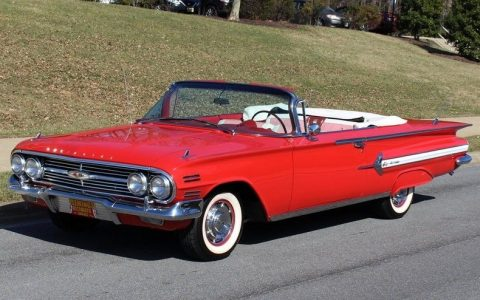 showroom quality 1960 Chevrolet Impala convertible for sale
