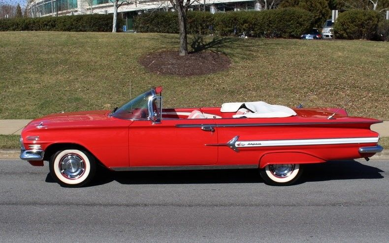 showroom quality 1960 Chevrolet Impala convertible