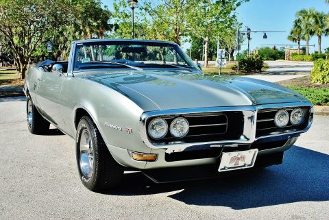 Excellent Restoration 1968 Pontiac Firebird Convertible for sale