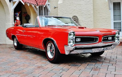 Fully Restored 1966 Pontiac GTO Convertible 4 Speed for sale