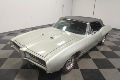 Fully Restored 1968 Pontiac GTO Convertible for sale