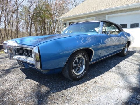 garaged 1968 Pontiac Le Mans Convertible for sale