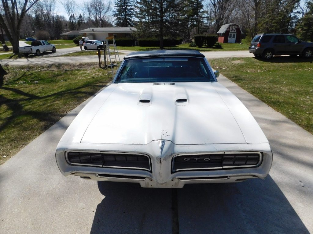 Highly OPTIONED 1968 Pontiac GTO Convertible