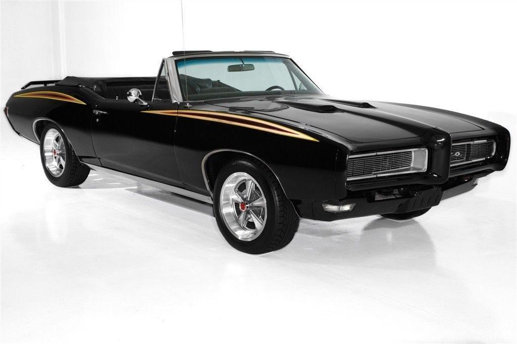 Judge Accents 1968 Pontiac GTO Black 400 Auto convertible