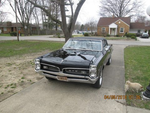 LeMans converted to 1966 Pontiac GTO convertible for sale