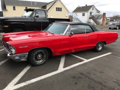 part of a collection 1965 Pontiac Catalina convertible for sale