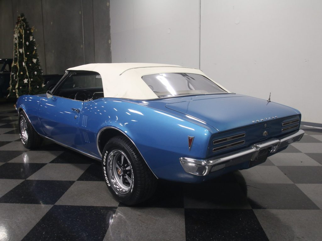 Recently Restored 1968 Pontiac Firebird convertible